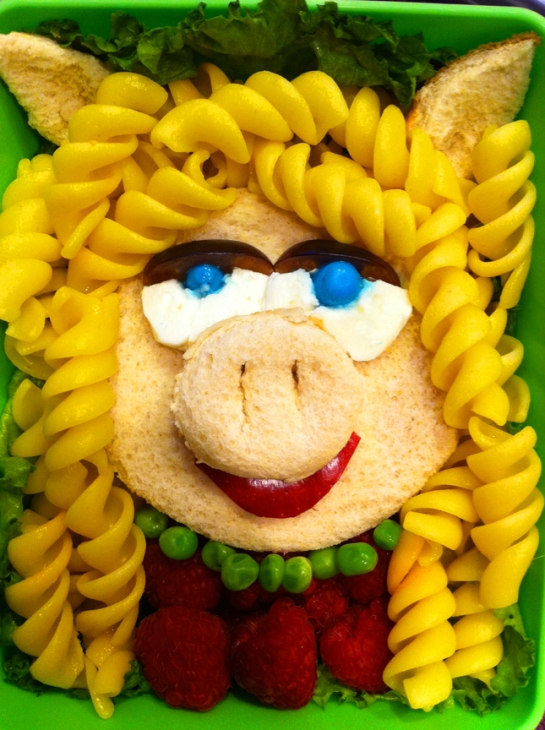 Miss Piggy Lunchbox by Heather Sitarzewski