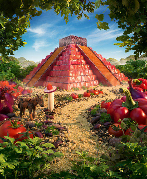 The Mayan Pepper Temple