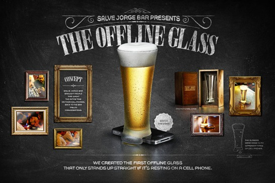 The Offline Glas