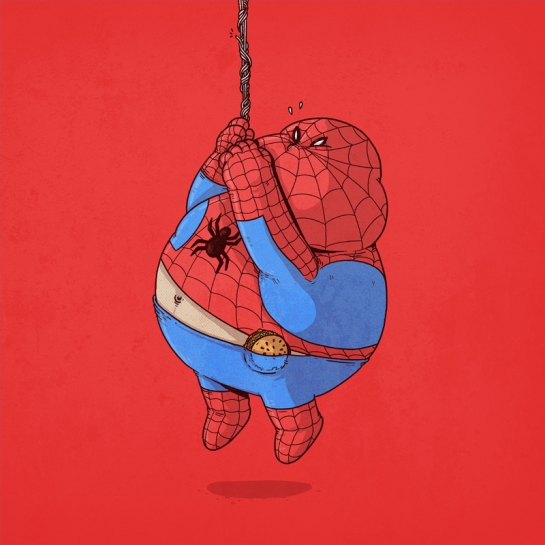 Famous Chunkies Spiderman